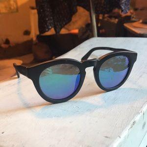 DIFF Eyewear DimeII Polarized BlueGreen Sunglasses